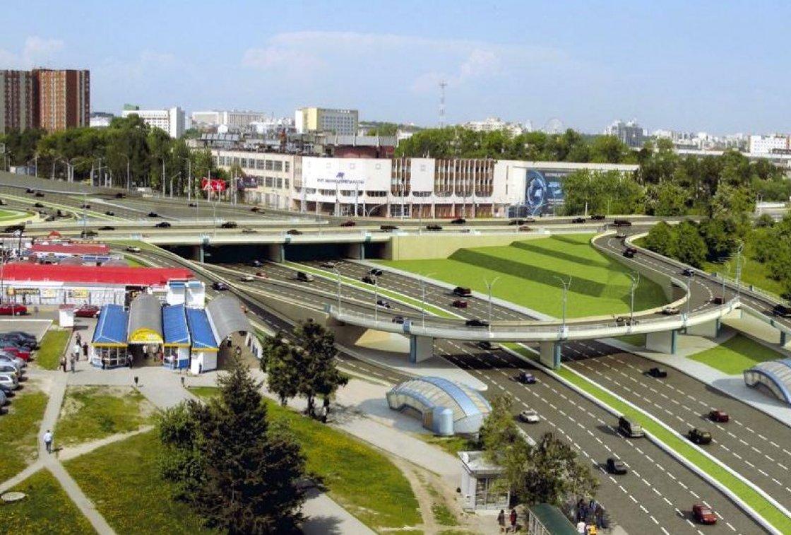 Транспортная развязка на пересечении ул. Маяковского и ул. Аранской