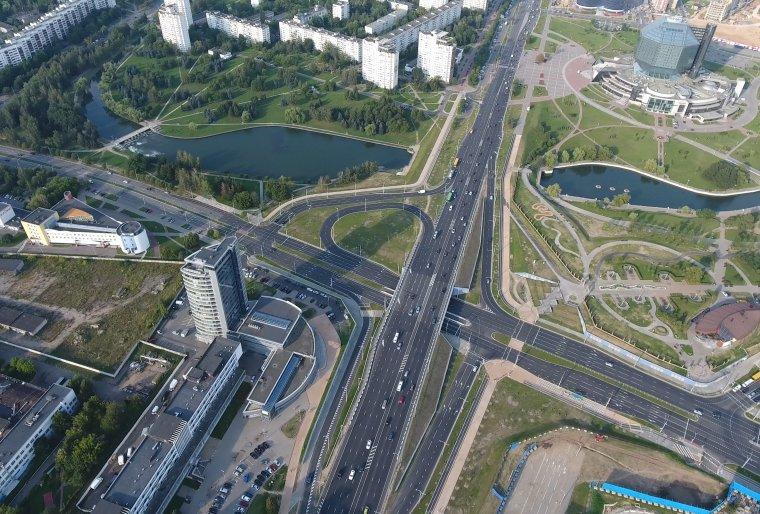 Транспортная развязка на пересечении пр.Независимости с ул.Филимонова