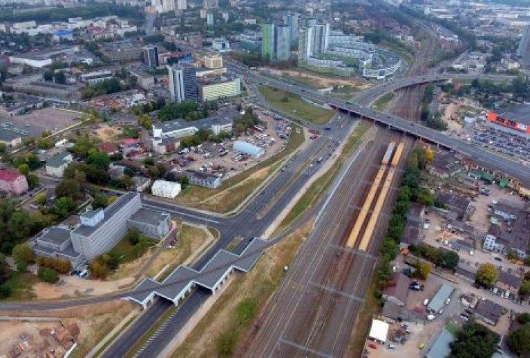 1-е транспортное кольцо от ул. Харьковской до ул. К.Либкнехта