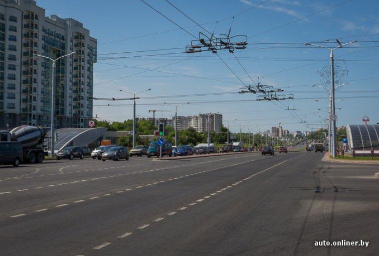 Реконструкция пр. Дзержинского до ул. Щорса