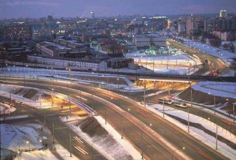 Реконструкция транспортного пересечения в 2-х уровнях с железной дорогой
