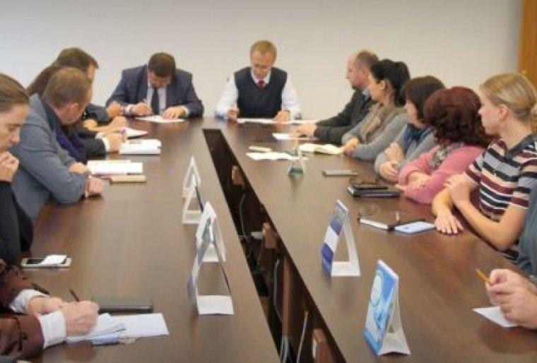 Встреча с гендиректором ГПО «Минскстрой»