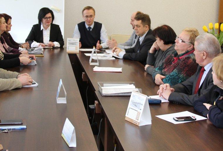 Встреча с руководством КАиГ
