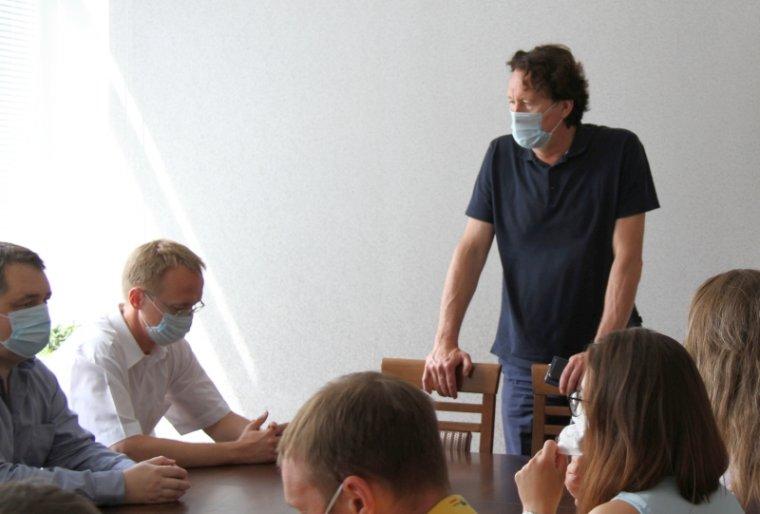 Встреча с главным государственным санитарным врачом района